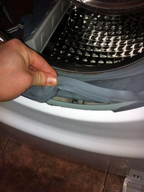 Remplacer joint hublot lave linge