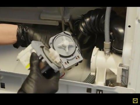 Changer pompe vidange lave linge