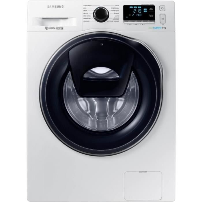 Lave linge eco bubble 9 kg