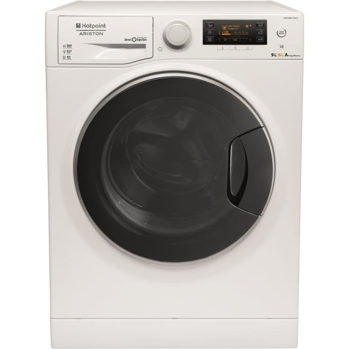 Lave linge sechant option vapeur