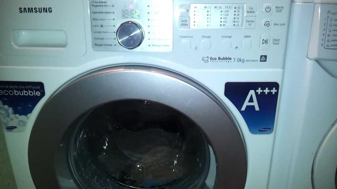 Lave linge classe a