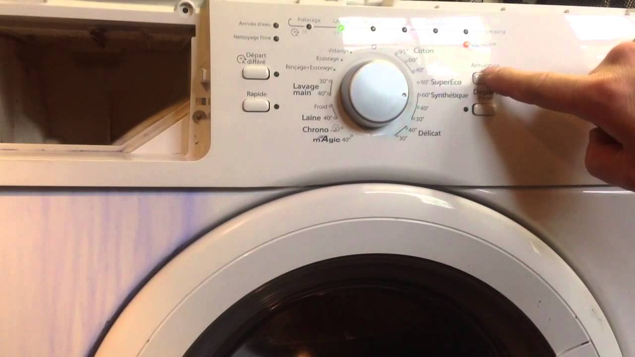 Electrolux intuition lave linge