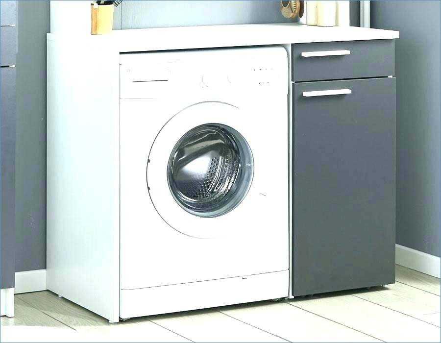 Meuble dessus lave linge