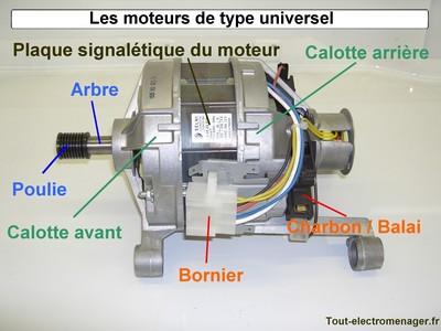 Tester moteur lave linge