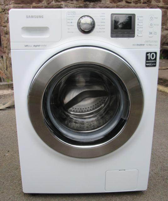 Samsung lave linge 12 kg eco bubble wf1124xac