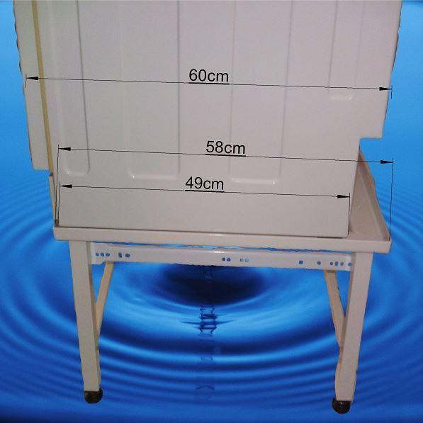 Structure pour surélever lave linge