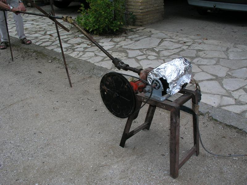 Que faire avec un moteur de lave linge