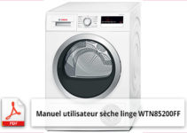Notice lave linge bosch avantixx 7 ecoperformance