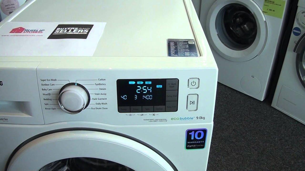 Lave linge samsung eco bubble 12 kg prix