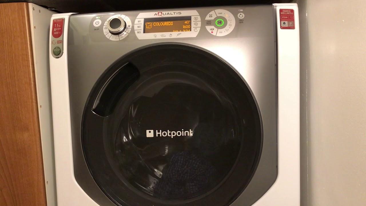 Lave linge hotpoint ariston aqualtis 11kg