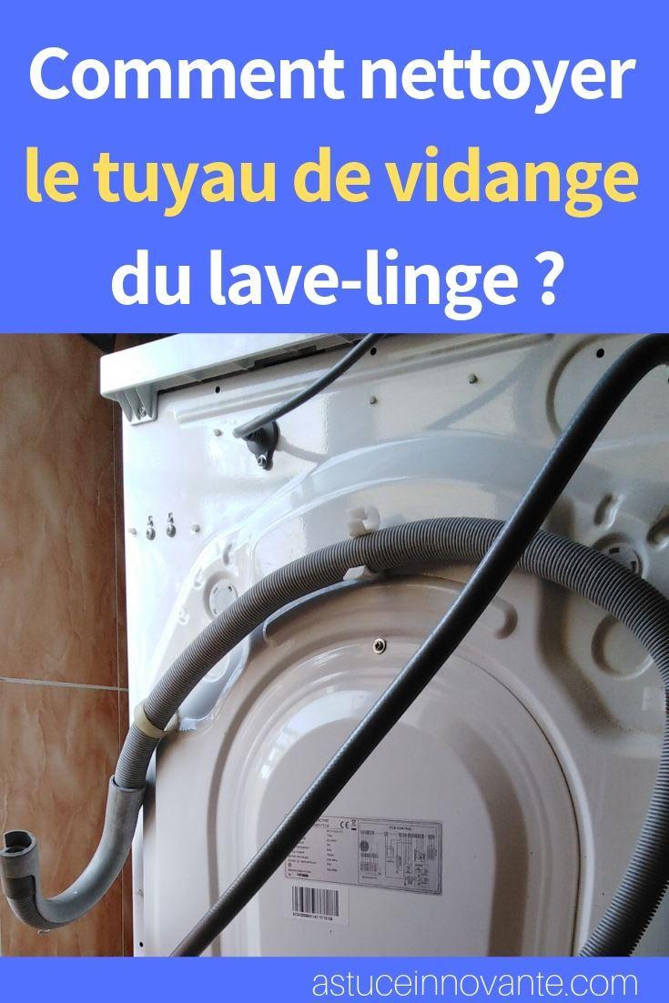 Nettoyer le tuyau de vidange d un lave linge
