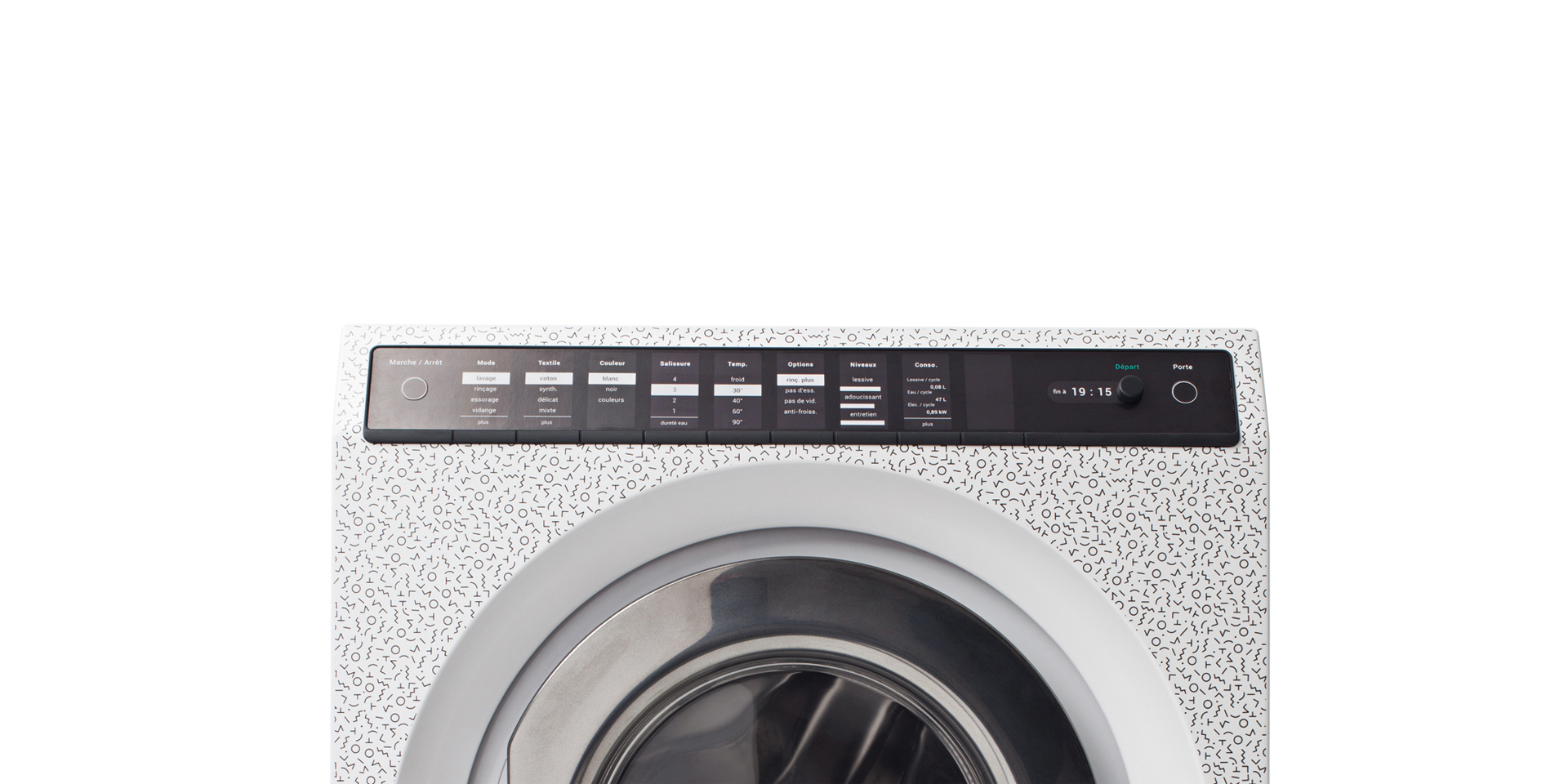 L'increvable lave linge