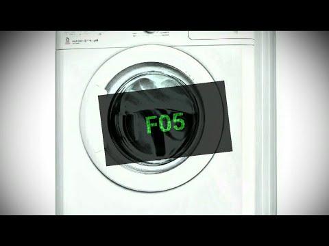 Code erreur lave linge indesit